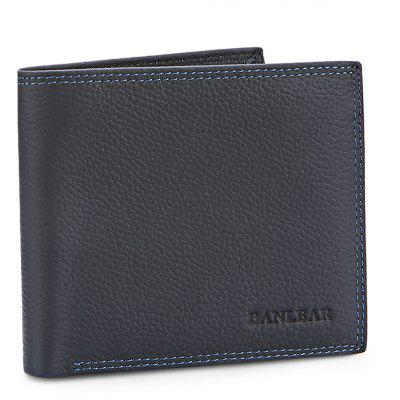 Buy BLACK Banlear Wearable Genuine Leather Men Wallet for $13.68 in GearBest store