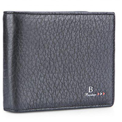 Buy BLACK Banlear Carriable Bifold Men Wallet for $11.12 in GearBest store