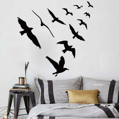 Creative Household Aerial Bird Wall StickerWall Stickers<br>Creative Household Aerial Bird Wall Sticker<br><br>Hang In/Stick On: Bedrooms,Living Rooms<br>Package Contents: 1 x Wall Sticker<br>Package size (L x W x H): 60.00 x 4.00 x 4.00 cm / 23.62 x 1.57 x 1.57 inches<br>Package weight: 0.1700 kg<br>Product weight: 0.1300 kg