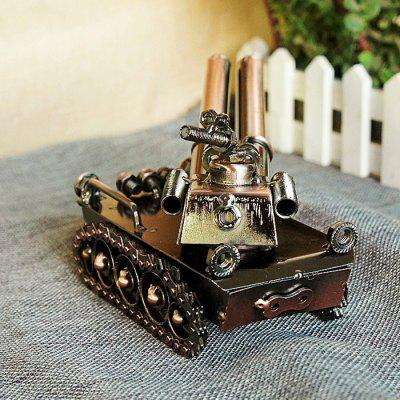 Retro Stylish Tank Miniature Home Decoration FigurineCrafts<br>Retro Stylish Tank Miniature Home Decoration Figurine<br><br>For: Brothers, Friends<br>Material: Iron<br>Package Contents: 1 x Figurine<br>Package size (L x W x H): 23.00 x 8.00 x 13.00 cm / 9.06 x 3.15 x 5.12 inches<br>Package weight: 0.6200 kg<br>Product size (L x W x H): 22.00 x 7.00 x 12.00 cm / 8.66 x 2.76 x 4.72 inches<br>Product weight: 0.5000 kg