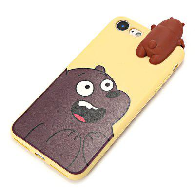 3D Solid Cute Bear Silicone Soft Phone Case for iPhone 7iPhone Cases/Covers<br>3D Solid Cute Bear Silicone Soft Phone Case for iPhone 7<br><br>Compatible for Apple: iPhone 7<br>Features: Anti-knock, Back Cover<br>Material: Silicone<br>Package Contents: 1 x Phone Case<br>Package size (L x W x H): 24.50 x 14.00 x 3.00 cm / 9.65 x 5.51 x 1.18 inches<br>Package weight: 0.0570 kg<br>Product size (L x W x H): 15.80 x 7.00 x 2.00 cm / 6.22 x 2.76 x 0.79 inches<br>Product weight: 0.0320 kg<br>Style: Animal, Ultra Slim, Pattern, Funny, 3D Print, Contrast Color, Cartoon, Cute