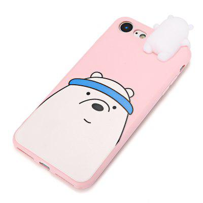 3D Solid Cute Cartoon Bear Silicone Phone Case for iPhone 7iPhone Cases/Covers<br>3D Solid Cute Cartoon Bear Silicone Phone Case for iPhone 7<br><br>Compatible for Apple: iPhone 7<br>Features: Anti-knock, Back Cover<br>Material: Silicone<br>Package Contents: 1 x Phone Case<br>Package size (L x W x H): 24.50 x 14.00 x 3.00 cm / 9.65 x 5.51 x 1.18 inches<br>Package weight: 0.0570 kg<br>Product size (L x W x H): 15.80 x 7.00 x 2.00 cm / 6.22 x 2.76 x 0.79 inches<br>Product weight: 0.0330 kg<br>Style: Animal, Ultra Slim, Pattern, Funny, 3D Print, Contrast Color, Cartoon, Cute