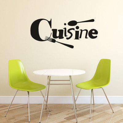 DIY French Waterproof Removable Wall Sticker