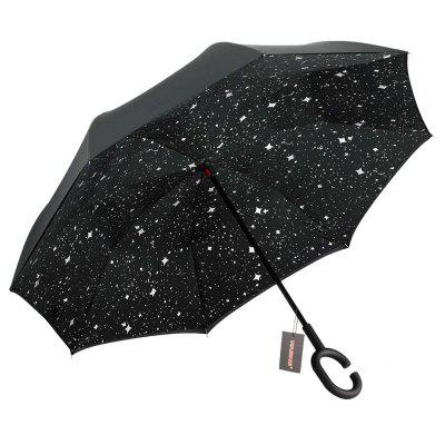 Windproof Reverse Close Double-layer Umbrella