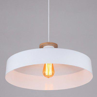 E27 Simple Nordic Style Round Pendant Light 220V