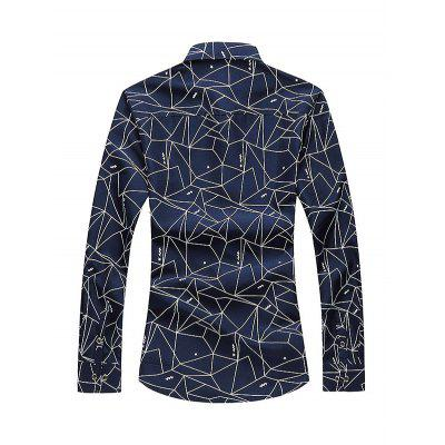 Casual Fashion Long Sleeve Male ShirtMens Shirts<br>Casual Fashion Long Sleeve Male Shirt<br><br>Material: Cotton, Polyester<br>Package Contents: 1 x Men Shirt<br>Package size: 35.00 x 25.00 x 2.00 cm / 13.78 x 9.84 x 0.79 inches<br>Package weight: 0.3000 kg<br>Product weight: 0.2500 kg