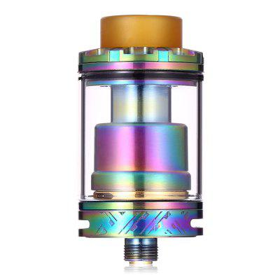 ST Version RL RTA 24mmVapor Styles<br>ST Version RL RTA 24mm<br><br>Atomizer Capacity: 3.0ml<br>Atomizer Type: Rebuildable Atomizer, Rebuildable Tanks, Tank Atomizer<br>Connection Threading of Atomizer: 510<br>Connection Threading of Battery: 510<br>Material: Glass, Stainless Steel, PEI<br>Package Contents: 1 x Atomizer, 1 x Glass Tank, 1 x Accessory Bag<br>Package size (L x W x H): 6.50 x 6.50 x 4.00 cm / 2.56 x 2.56 x 1.57 inches<br>Package weight: 0.0930 kg<br>Product size (L x W x H): 4.50 x 2.40 x 2.40 cm / 1.77 x 0.94 x 0.94 inches<br>Product weight: 0.0450 kg