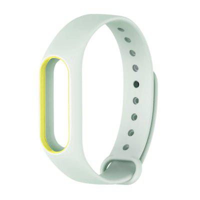 Luminous Wristband for Xiaomi Mi Band 2Smart Watch Accessories<br>Luminous Wristband for Xiaomi Mi Band 2<br><br>Material: TPE<br>Package Contents: 1 x Wristband<br>Package size: 12.00 x 9.00 x 2.00 cm / 4.72 x 3.54 x 0.79 inches<br>Package weight: 0.0240 kg<br>Product size: 23.50 x 1.80 x 0.90 cm / 9.25 x 0.71 x 0.35 inches<br>Product weight: 0.0120 kg