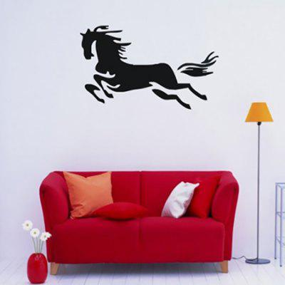 Creative Running Horse Design Wall StickerWall Stickers<br>Creative Running Horse Design Wall Sticker<br><br>Art Style: Plane Wall Stickers<br>Functions: Decorative Wall Stickers<br>Hang In/Stick On: Bedrooms,Cafes,Kids Room,Living Rooms<br>Material: Vinyl(PVC), Self-adhesive Plastic<br>Package Contents: 1 x Sticker<br>Package size (L x W x H): 45.00 x 5.00 x 5.00 cm / 17.72 x 1.97 x 1.97 inches<br>Package weight: 0.2200 kg<br>Product size (L x W x H): 42.00 x 71.00 x 0.20 cm / 16.54 x 27.95 x 0.08 inches<br>Product weight: 0.1000 kg<br>Subjects: Animal