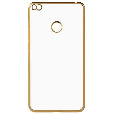 Buy GOLDEN Luanke TPU Electroplating Phone Case for Xiaomi Mi MAX 2 for $4.95 in GearBest store