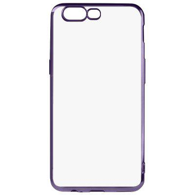 Buy BLACK Luanke Electroplating Edge TPU Phone Case for OnePlus 5 for $3.77 in GearBest store