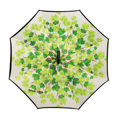 Cherry Blossom Print Windproof Inverted Double-layer UmbrellaUmbrella &amp; Raincoats<br>Cherry Blossom Print Windproof Inverted Double-layer Umbrella<br><br>Package Contents: 1 x Umbrella<br>Package Size(L x W x H): 84.00 x 8.00 x 8.00 cm / 33.07 x 3.15 x 3.15 inches<br>Package weight: 0.6060 kg<br>Product size (L x W x H): 80.00 x 7.00 x 7.00 cm / 31.5 x 2.76 x 2.76 inches<br>Product weight: 0.5160 kg