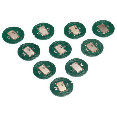 10PCS 15mm Round NTAG203 Electronic NFC Label