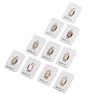 10PCS High Transmitting Frequency RFID Smart IC Chip