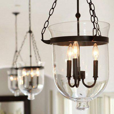 E14 3 Branches Retro American Style Pendant Lamp 220VPendant Light<br>E14 3 Branches Retro American Style Pendant Lamp 220V<br><br>Battery Included: No<br>Bulb Base: E14<br>Bulb Included: Yes<br>Chain / Cord Adjustable or Not: Chain / Cord Adjustable<br>Chain / Cord Length ( CM ): 50<br>Features: Candle Style, Bulb Included<br>Fixture Height ( CM ): 40<br>Fixture Length ( CM ): 33<br>Fixture Width ( CM ): 33<br>Light Direction: Uplight<br>Number of Bulb: 3 Bulbs<br>Package Contents: 1 x Pendant Light, 1 x Installation Component Kit<br>Package size (L x W x H): 40.00 x 40.00 x 50.00 cm / 15.75 x 15.75 x 19.69 inches<br>Package weight: 9.0500 kg<br>Product weight: 8.0000 kg<br>Shade Material: Glass, Iron<br>Style: Country<br>Suggested Room Size: 10 - 15?<br>Suggested Space Fit: Bedroom,Cafes,Kitchen,Living Room<br>Type: Pendant Light<br>Voltage ( V ): AC220