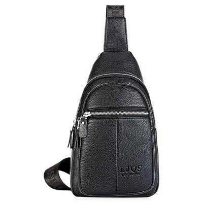 Buy BLACK Leisure Durable Men Chest Bag for $19.64 in GearBest store