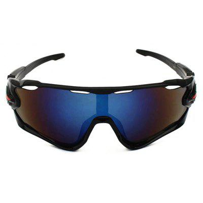 Buy BLACK CTSmart 9270 Outdoor Sports Cycling Glasses Sets for $12.36 in GearBest store
