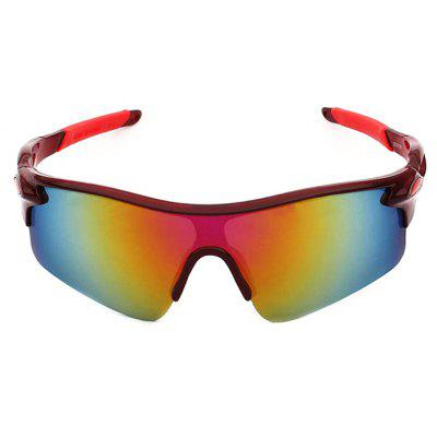 Buy RED CTSmart 9181 Outdoor Sports Cycling Glasses for $5.90 in GearBest store