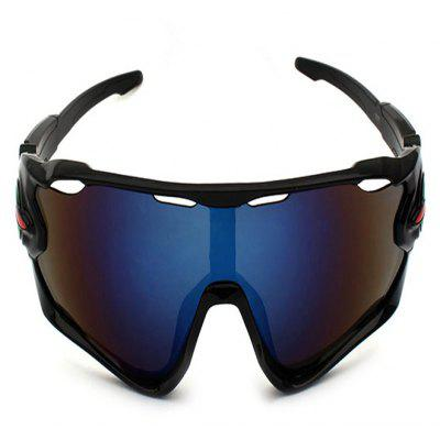 Buy BLACK AND BLUE CTSmart 9270 Fishing Climbing Cycling Glasses for $7.01 in GearBest store