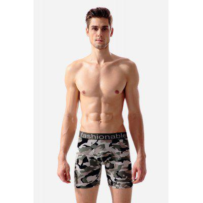 Männliche Casual Classic Camouflage Fitness Shorts