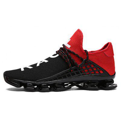 Buy RED 37 Male Stylish Light Outdoor Soccer Damping Athletic Shoes for $35.68 in GearBest store