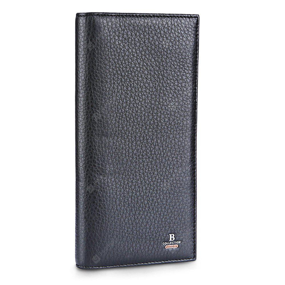 BLACK Banlear Classical Bifold Men Wallet