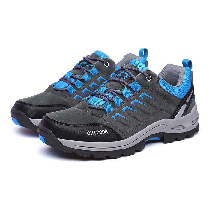 Masculino Lace Up Soft Light Outdoor Hiking Athletic Shoes