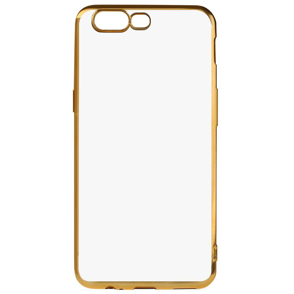 GOLDEN Luanke Electroplating Edge TPU Phone Case for OnePlus 5