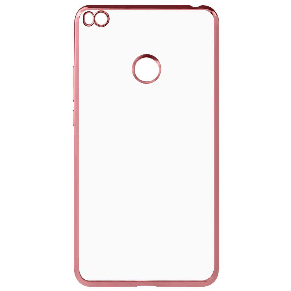 ROSE GOLD Luanke TPU Electroplating Phone Case for Xiaomi Mi MAX 2