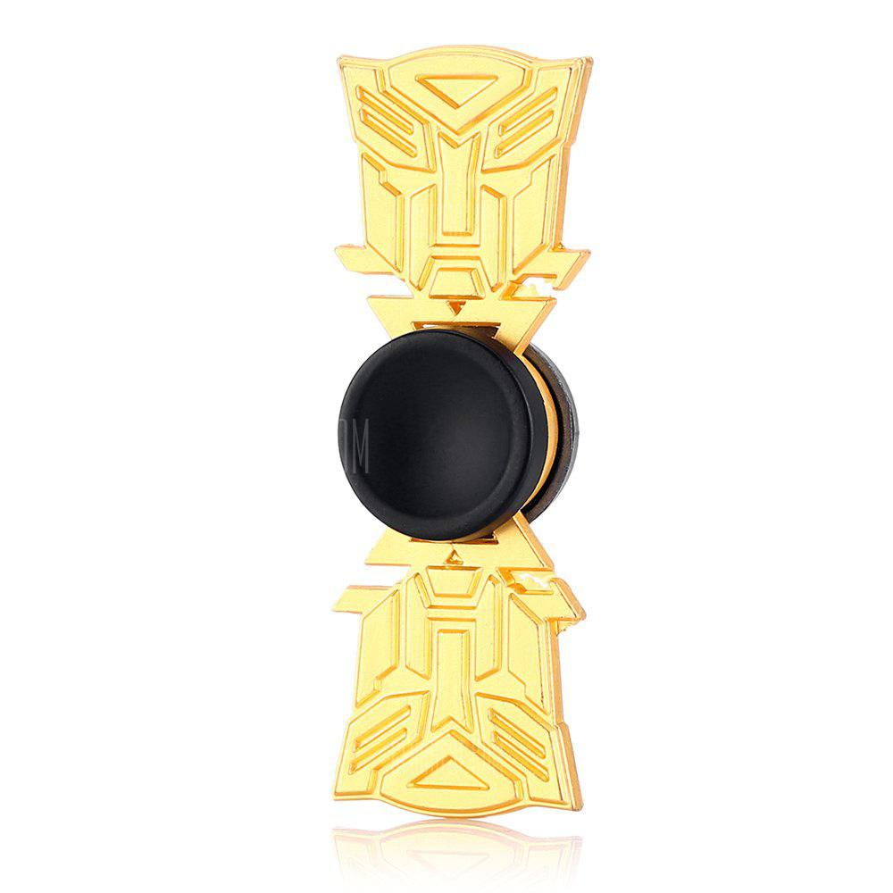 Cool Two-blade Robot Alloy ADHD Fidget Spinner