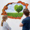 Buy 3D Green Tree Wall Sticker Home Decoration COLORMIX