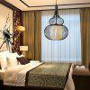 Cage Shape Iron Pendant Light 220V - PRETO