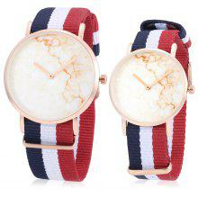 CAGARNY Nylon Band Couple Watches