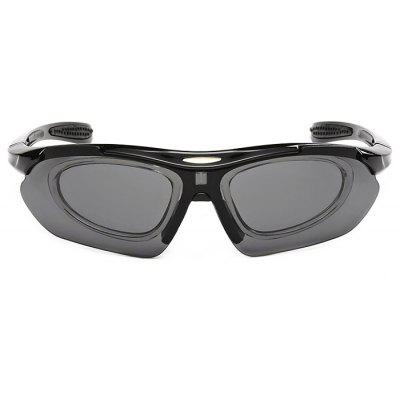 Buy BLACK CTSmart 0089 PC Lens Cycling Glasses Sets for $15.23 in GearBest store