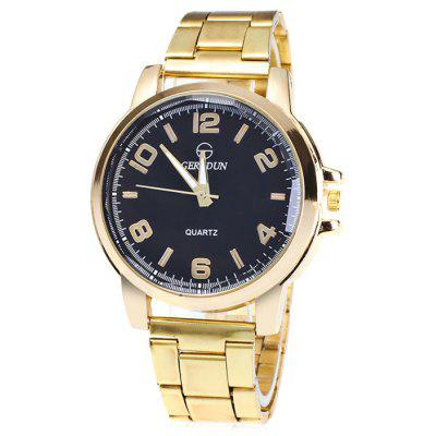 GERIDUN Men Simple Fashionable Quartz Watch