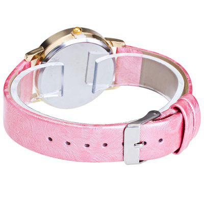 GERIDUN Women Sweet Quartz WatchWomens Watches<br>GERIDUN Women Sweet Quartz Watch<br><br>Band material: PU<br>Band size: 24.5 x 2cm, 24.5 x 2cm<br>Brand: GERIDUN<br>Case material: Steel<br>Clasp type: Pin buckle<br>Dial size: 3 x 3 x 0.7cm<br>Display type: Analog<br>Movement type: Quartz watch<br>Package Contents: 1 x Watch, 1 x Box, 1 x Watch, 1 x Box<br>Package size (L x W x H): 8.00 x 7.50 x 5.50 cm / 3.15 x 2.95 x 2.17 inches, 8.00 x 7.50 x 5.50 cm / 3.15 x 2.95 x 2.17 inches<br>Package weight: 0.0900 kg, 0.0900 kg<br>Product size (L x W x H): 24.50 x 3.00 x 0.70 cm / 9.65 x 1.18 x 0.28 inches, 24.50 x 3.00 x 0.70 cm / 9.65 x 1.18 x 0.28 inches<br>Product weight: 0.0400 kg, 0.0400 kg<br>Shape of the dial: Round<br>Watch mirror: Acrylic<br>Watch style: Lovely, Fashion<br>Watches categories: Women<br>Water resistance: No