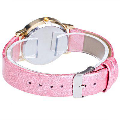 GERIDUN Women Round Dial PU Band Quartz WatchWomens Watches<br>GERIDUN Women Round Dial PU Band Quartz Watch<br><br>Band material: PU<br>Band size: 24.5 x 2cm<br>Brand: GERIDUN<br>Case material: Steel<br>Clasp type: Pin buckle<br>Dial size: 3 x 3 x 0.7cm<br>Display type: Analog<br>Movement type: Quartz watch<br>Package Contents: 1 x Watch, 1 x Box<br>Package size (L x W x H): 8.00 x 7.50 x 5.50 cm / 3.15 x 2.95 x 2.17 inches<br>Package weight: 0.0900 kg<br>Product size (L x W x H): 24.50 x 3.00 x 0.70 cm / 9.65 x 1.18 x 0.28 inches<br>Product weight: 0.0400 kg<br>Shape of the dial: Round<br>Watch mirror: Acrylic<br>Watch style: Fashion<br>Watches categories: Women<br>Water resistance : No
