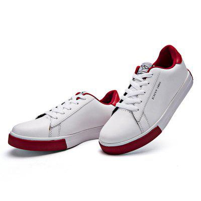 Male Popular Simple Anti Slip Lace Up Leather ShoesCasual Shoes<br>Male Popular Simple Anti Slip Lace Up Leather Shoes<br><br>Closure Type: Lace-Up<br>Contents: 1 x Pair of Shoes<br>Decoration: Split Joint<br>Function: Slip Resistant<br>Materials: Rubber, Leather<br>Occasion: Tea Party, Rainy Day, Holiday, Daily, Casual, Shopping<br>Outsole Material: Rubber<br>Package Size ( L x W x H ): 33.00 x 22.00 x 11.00 cm / 12.99 x 8.66 x 4.33 inches<br>Package Weights: 0.77kg<br>Pattern Type: Solid<br>Seasons: Autumn,Spring<br>Style: Modern, Leisure, Fashion, Comfortable, Casual<br>Toe Shape: Round Toe<br>Type: Casual Leather Shoes<br>Upper Material: Leather