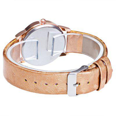 GERIDUN Women Round Dial Quartz WatchWomens Watches<br>GERIDUN Women Round Dial Quartz Watch<br><br>Band material: PU<br>Band size: 24.5 x 2cm<br>Brand: GERIDUN<br>Case material: Steel<br>Clasp type: Pin buckle<br>Dial size: 3 x 3 x 0.7cm<br>Display type: Analog<br>Movement type: Quartz watch<br>Package Contents: 1 x Watch, 1 x Box<br>Package size (L x W x H): 8.00 x 7.50 x 5.50 cm / 3.15 x 2.95 x 2.17 inches<br>Package weight: 0.0900 kg<br>Product size (L x W x H): 24.50 x 3.00 x 0.70 cm / 9.65 x 1.18 x 0.28 inches<br>Product weight: 0.0400 kg<br>Shape of the dial: Round<br>Watch mirror: Acrylic<br>Watch style: Fashion<br>Watches categories: Women<br>Water resistance : No