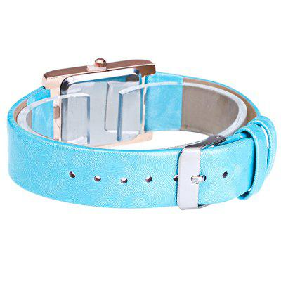 GERIDUN Women Rectangle Dial Quartz WatchWomens Watches<br>GERIDUN Women Rectangle Dial Quartz Watch<br><br>Band material: PU<br>Band size: 24.5 x 2cm<br>Brand: GERIDUN<br>Case material: Steel<br>Clasp type: Pin buckle<br>Dial size: 3 x 3 x 0.7cm<br>Display type: Analog<br>Movement type: Quartz watch<br>Package Contents: 1 x Watch, 1 x Box<br>Package size (L x W x H): 8.00 x 7.50 x 5.50 cm / 3.15 x 2.95 x 2.17 inches<br>Package weight: 0.0900 kg<br>Product size (L x W x H): 24.50 x 3.00 x 0.70 cm / 9.65 x 1.18 x 0.28 inches<br>Product weight: 0.0400 kg<br>Shape of the dial: Rectangle<br>Watch mirror: Acrylic<br>Watch style: Fashion<br>Watches categories: Women<br>Water resistance : No