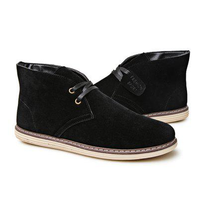 Male Stylish British Style Anti Slip Suede Leisure ShoesCasual Shoes<br>Male Stylish British Style Anti Slip Suede Leisure Shoes<br><br>Closure Type: Lace-Up<br>Contents: 1 x Pair of Shoes<br>Function: Slip Resistant<br>Materials: Suede, Rubber<br>Occasion: Tea Party, Party, Holiday, Daily, Casual, Shopping<br>Outsole Material: Rubber<br>Package Size ( L x W x H ): 33.00 x 22.00 x 11.00 cm / 12.99 x 8.66 x 4.33 inches<br>Package Weights: 0.82kg<br>Pattern Type: Solid<br>Seasons: Autumn,Spring,Winter<br>Style: Modern, Leisure, Fashion, Comfortable, Casual<br>Toe Shape: Round Toe<br>Type: Casual Shoes<br>Upper Material: Suede