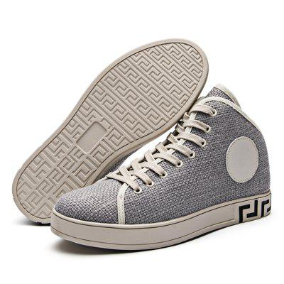 Male Canvas Anti Slip Medium Top Leisure ShoesCasual Shoes<br>Male Canvas Anti Slip Medium Top Leisure Shoes<br><br>Closure Type: Lace-Up<br>Contents: 1 x Pair of Shoes<br>Function: Slip Resistant<br>Materials: Rubber, Canvas<br>Occasion: Tea Party, Party, Holiday, Daily, Casual, Shopping<br>Outsole Material: Rubber<br>Package Size ( L x W x H ): 33.00 x 24.00 x 13.00 cm / 12.99 x 9.45 x 5.12 inches<br>Package Weights: 0.82kg<br>Seasons: Autumn,Spring<br>Style: Modern, Leisure, Fashion, Comfortable, Casual<br>Toe Shape: Round Toe<br>Type: Casual Shoes<br>Upper Material: Canvas
