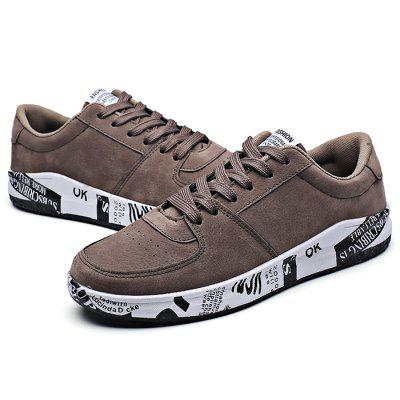 Male Casual Anti Slip Pattern Lace Up Leather ShoesCasual Shoes<br>Male Casual Anti Slip Pattern Lace Up Leather Shoes<br><br>Closure Type: Lace-Up<br>Contents: 1 x Pair of Shoes<br>Function: Slip Resistant<br>Materials: Rubber, Artificial leather<br>Occasion: Tea Party, Holiday, Daily, Casual, Party<br>Outsole Material: Rubber<br>Package Size ( L x W x H ): 33.00 x 22.00 x 11.00 cm / 12.99 x 8.66 x 4.33 inches<br>Package Weights: 0.77kg<br>Pattern Type: Solid, Letter<br>Seasons: Autumn,Spring<br>Style: Modern, Leisure, Fashion, Comfortable, Casual<br>Toe Shape: Round Toe<br>Type: Casual Leather Shoes<br>Upper Material: Artificial leather