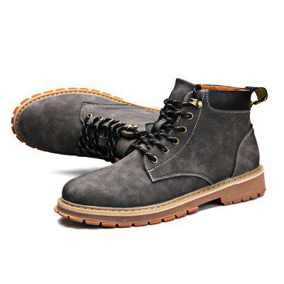 Male Casual Anti Slip Stitching Lace Up Martin BootsMens Boots<br>Male Casual Anti Slip Stitching Lace Up Martin Boots<br><br>Closure Type: Lace-Up, Lace-Up<br>Contents: 1 x Pair of Shoes, 1 x Pair of Shoes<br>Function: Slip Resistant, Slip Resistant<br>Materials: Microfiber, Rubber, Rubber, Microfiber<br>Occasion: Party, Shopping, Holiday, Shopping, Daily, Casual, Party, Daily, Casual, Holiday<br>Outsole Material: Rubber, Rubber<br>Package Size ( L x W x H ): 30.00 x 20.00 x 16.00 cm / 11.81 x 7.87 x 6.3 inches, 30.00 x 20.00 x 16.00 cm / 11.81 x 7.87 x 6.3 inches<br>Package Weights: 1.05kg, 1.05kg<br>Pattern Type: Solid, Solid<br>Seasons: Autumn,Spring, Autumn,Spring<br>Style: Fashion, Casual, Casual, Modern, Comfortable, Comfortable, Leisure, Modern, Fashion, Leisure<br>Toe Shape: Round Toe, Round Toe<br>Type: Boots, Boots<br>Upper Material: Microfiber, Microfiber