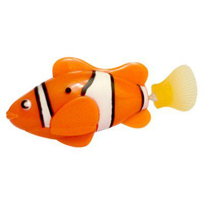 Fish Pattern Electronic Sensing Bath Toy