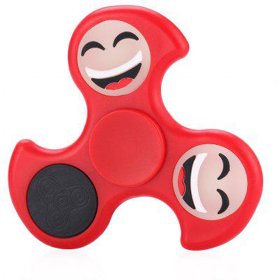 Maikou Fire Wheel Smiley Face ABS Fidget Tri-spinner