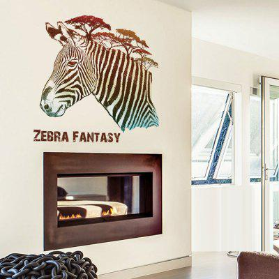 DSU New Removable Zebra Water Proof Art Wall StickerWall Stickers<br>DSU New Removable Zebra Water Proof Art Wall Sticker<br><br>Brand: DSU<br>Material: Vinyl(PVC)<br>Package Contents: 1 x Wall Sticker<br>Package size (L x W x H): 55.00 x 5.00 x 5.00 cm / 21.65 x 1.97 x 1.97 inches<br>Package weight: 0.1300 kg<br>Product size (L x W x H): 70.00 x 50.00 x 0.10 cm / 27.56 x 19.69 x 0.04 inches<br>Product weight: 0.1000 kg