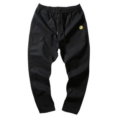 Buy BLACK Stylish Slim Thin Feet Pants for $20.26 in GearBest store