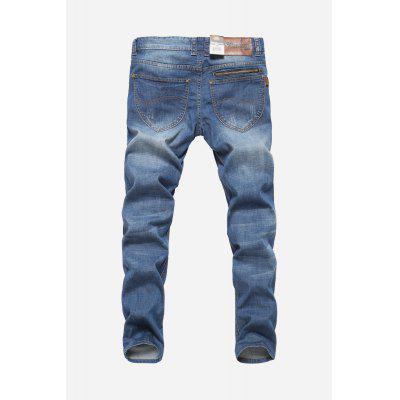 Fashion Men Straight Leg Jeans PantsMens Pants<br>Fashion Men Straight Leg Jeans Pants<br><br>Material: Cotton, Spandex<br>Package Contents: 1 x Pants<br>Package size: 30.00 x 35.00 x 2.00 cm / 11.81 x 13.78 x 0.79 inches<br>Package weight: 0.5200 kg<br>Product weight: 0.4800 kg