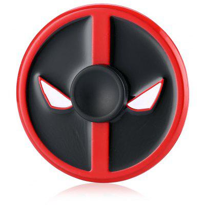 Round Face Devil Alloy ADHD Fidget Spinner